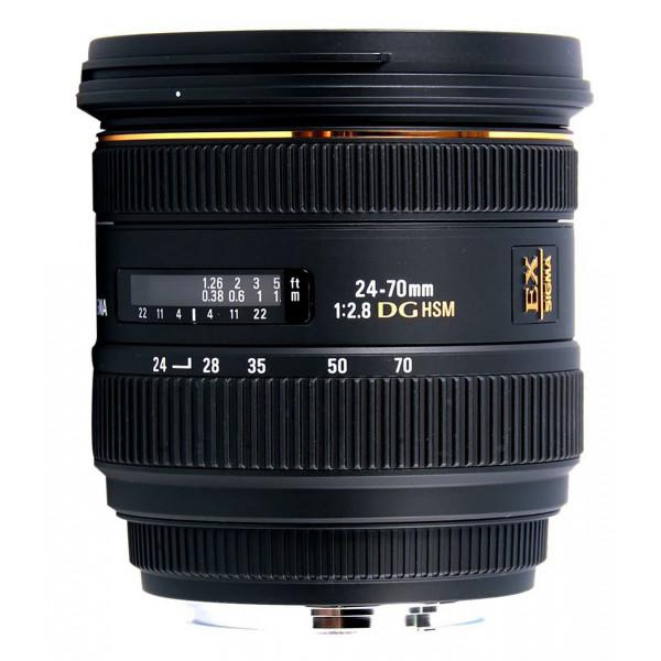 Sigma 24-70 mm F2,8 EX DG HSM-Objektiv (82 mm Filtergewinde) für Canon Objektivbajonett-34