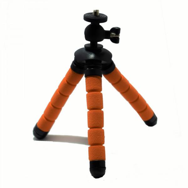 Eurosell Profi 13cm Mini Tisch Kamera Stativ Ultra flexibel für Canon / Nikon / Samsung etc.-37