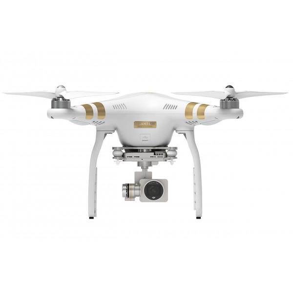 DJI Phantom 3 Professional UAV Aerial Quadrocopter Drohne mit Integrierter 4K Kamera und Gimbal zur Bildstabilisierung Weiß/Gold-37