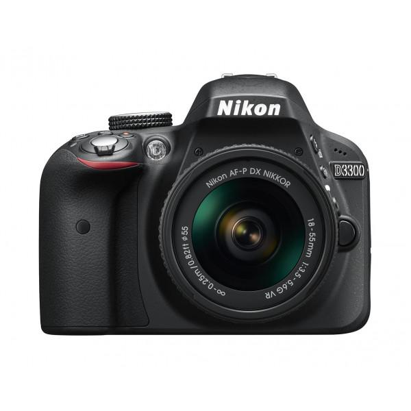 Nikon D3300 SLR-Digitalkamera Kit AF-P 18-55 VR schwarz-33