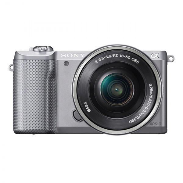 Sony Alpha 5000 Systemkamera (Full HD, 20 Megapixel, Exmor APS-C HD CMOS Sensor, 7,6 cm (3 Zoll) Schwenkdisplay) silber inkl. SEL-P1650 Objektiv-36
