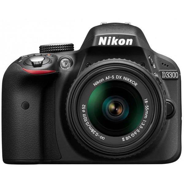 Nikon D3300 SLR-Digitalkamera Kit (24 Megapixel, 7,6 cm (3 Zoll) TFT-LCD-Display, Live View, Full-HD) inkl. AF-S DX 18-55 VR II Objektiv schwarz-39
