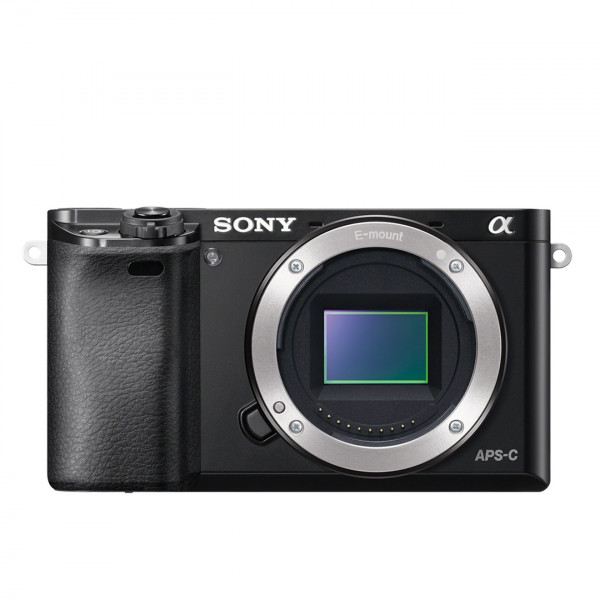 "Sony Alpha 6000 Systemkamera (24 Megapixel, 7,6 cm (3"") LCD-Display, Exmor APS-C Sensor, Full-HD, High Speed Hybrid AF) schwarz-315"