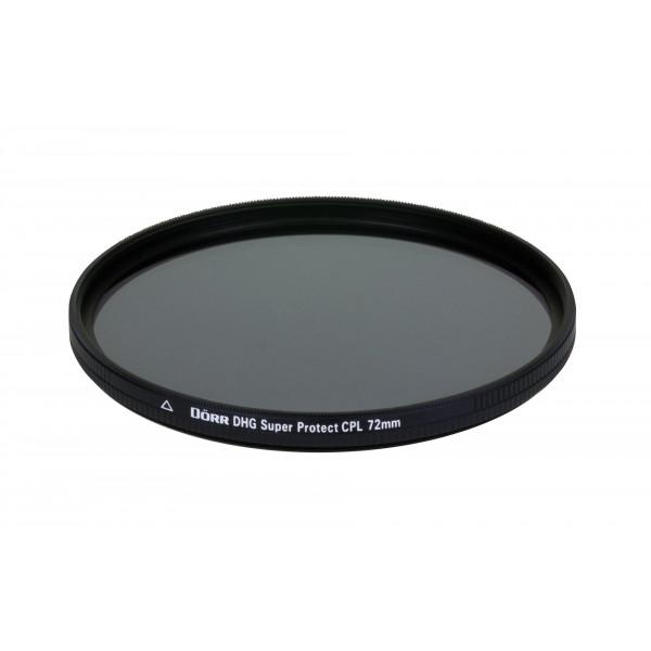 Dörr DHG Super Zirkular Polfilter 72 mm mit Nano-Vergütung/beidseitige DHG 12-fach Mehrschichtvergütung/extrem flache Filterfassung-35