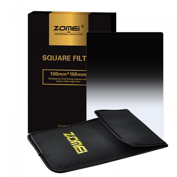 "Zomei ND16 Platz Allmähliche Grau Farbe Objektiv-Filter 100x150mm für Cokin Z Zomei Hitech 4X6 ""Holder 150 * 100 mm-37"