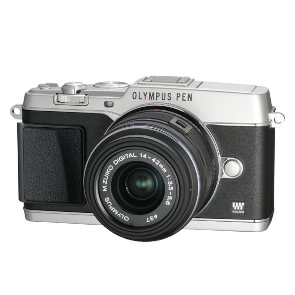 Olympus E-P5 Systemkamera inkl. 14-42mm Objektiv (16 Megapixel MOS-Sensor, True Pic VI Prozessor, 5-Achsen Bildstabilisator, Verschlusszeit 1/8000s, Full-HD) silber-313