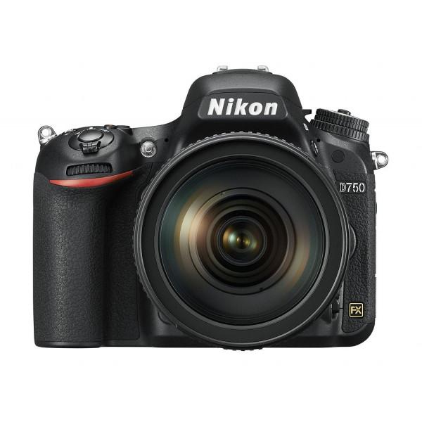 Nikon D750 SLR-Digitalkamera (24,3 Megapixel, 8,1 cm (3,2 Zoll) Display, HDMI, USB 2.0) Kit inkl. AF-S Nikkor 24-120 mm 1:4G ED VR Objektiv schwarz-321