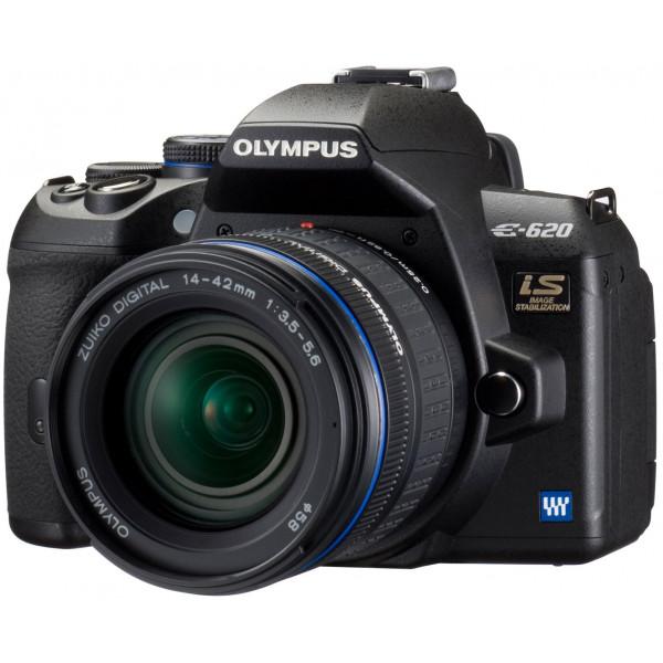 Olympus E-620 SLR-Digitalkamera (12,3 Megapixel, Bildstabilisator, Live View, Art Filter) Kit inkl. 14-42mm Objektiv-37