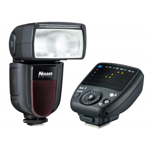 Nissin Di700 A Blitzgerät-Kit inkl. Kabelloser Fernauslöser für Canon-34