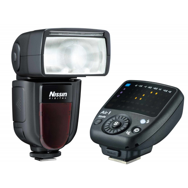 Nissin Di700 A Blitzgerät-Kit inkl. Kabelloser Fernauslöser für Nikon-34