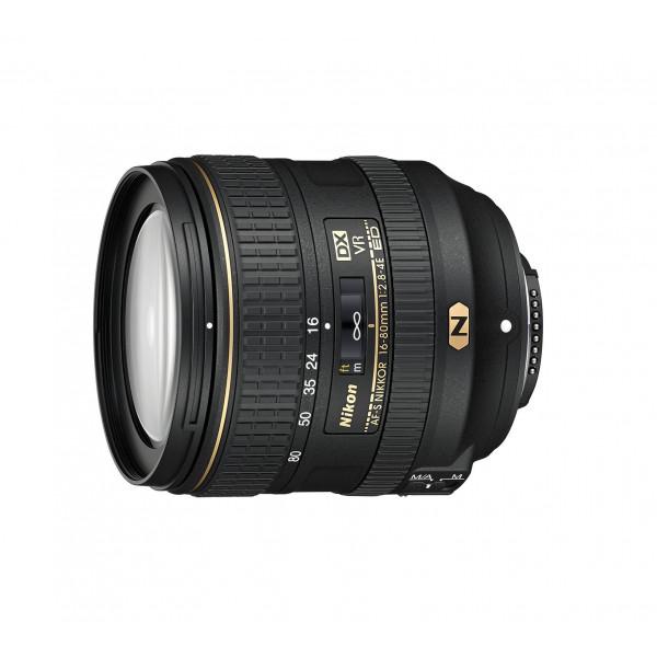Nikon AF-S DX Nikkor ED VR 16-80 mm 1:2 8-4E Objektiv (72 mm Filtergewinde) schwarz-34