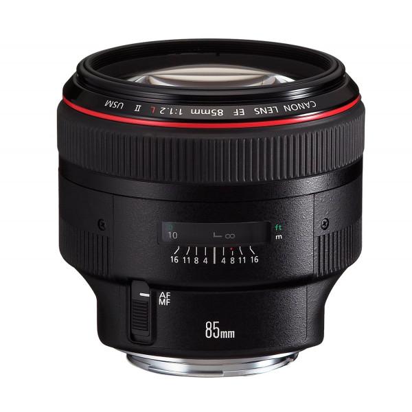 Canon EF 85mm 1:1,2 L II USM Objektiv (72 mm Filtergewinde)-34