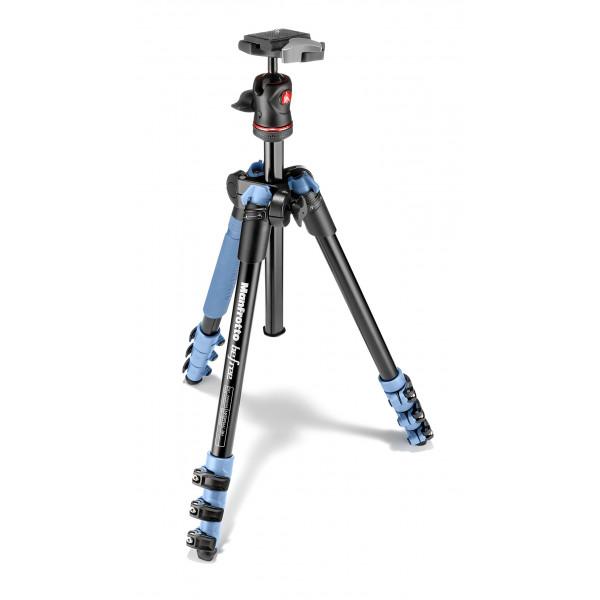 Manfrotto Befree Reisestativ aluminium blau-33