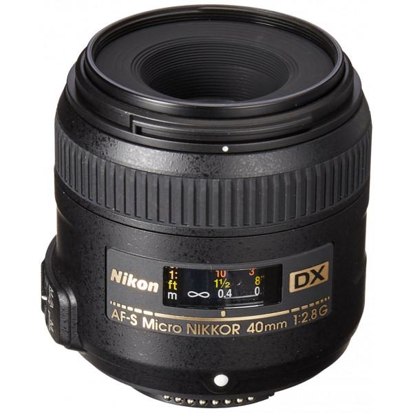 Nikon AF-S DX Micro-Nikkor 40mm 1:2,8G Objektiv-35