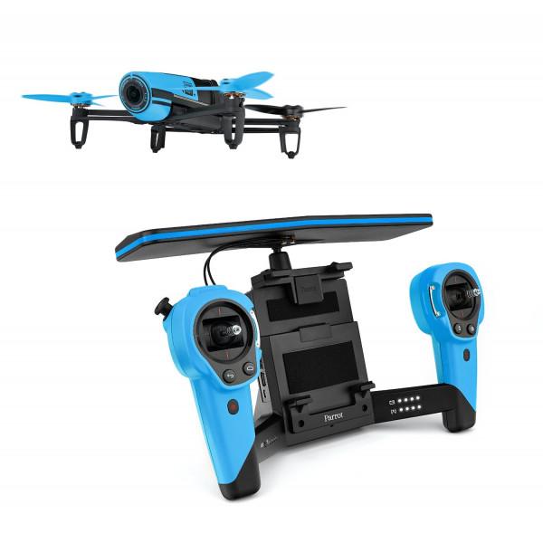 Parrot Bebop Drohne + Parrot Skycontroller blau-31