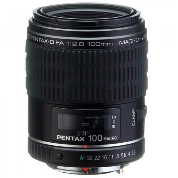 Pentax SMC P-D FA 100mm / f2,8 Objektiv (Vollformat Macro Tele) für Pentax-31