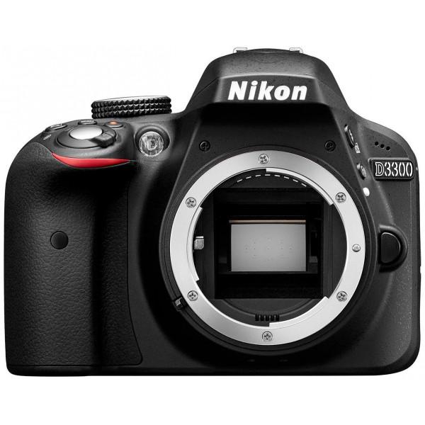 Nikon D3300 SLR-Digitalkamera (24 Megapixel, 7,6 cm (3 Zoll) TFT-LCD-Display, Live View, Full-HD) nur Gehäuse schwarz-37