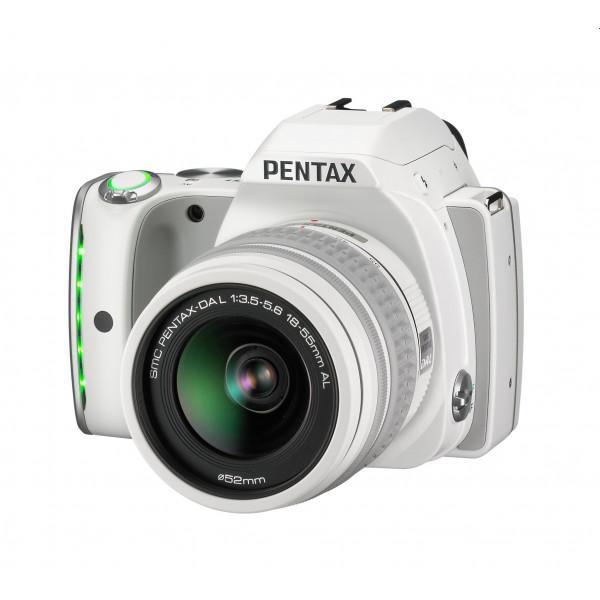 Pentax K-S1 SLR-Digitalkamera (20 Megapixel, 7,6 cm (3 Zoll) TFT Farb-LCD-Display, ultrakompaktes Gehäuse, Anti-Moiré-Funktion, Full-HD-Video, Wi-Fi, HDMI) Kit inkl. DAL 18-55 mm Objektiv weiß-310