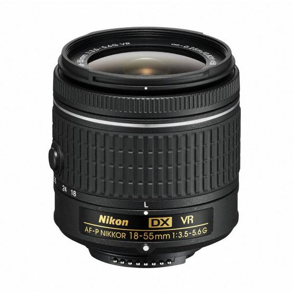 Nikon AF-P DX Nikkor 18-55 mm f/3.5-5.6G VR Zoomobjektiv-34