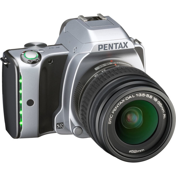 Pentax K-S1 SLR-Digitalkamera (20 Megapixel, 7,6 cm (3 Zoll) TFT Farb-LCD-Display, ultrakompaktes Gehäuse, Anti-Moiré-Funktion, Full-HD-Video, Wi-Fi, HDMI) Kit inkl. DAL 18-55 Objektiv moon silver-32