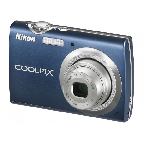 Nikon Coolpix S230 Digitalkamera (10 Megapixel, 3-fach optischer Zoom, 7,6 cm (3 Zoll) Display) blau-35