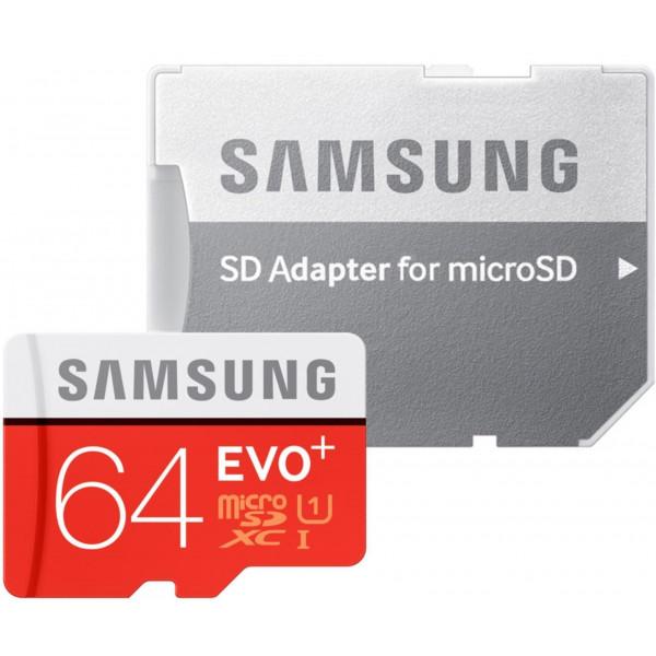 Samsung Speicherkarte MicroSDXC 64GB EVO Plus UHS-I Grade 1 Class 10 für Smartphones und Tablets, mit SD Adapter, frustfrei-34