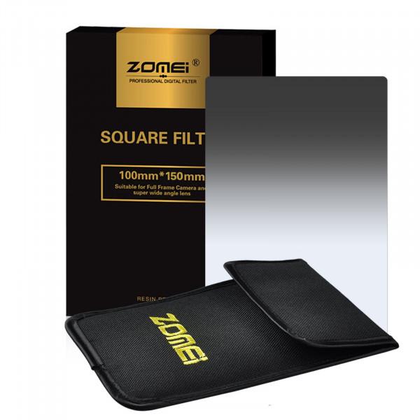 "Zomei ND4 Platz Allmähliche Grau Farbe Objektiv-Filter 100x150mm für Cokin Z Zomei Hitech 4X6 ""Holder 150 * 100 mm-38"