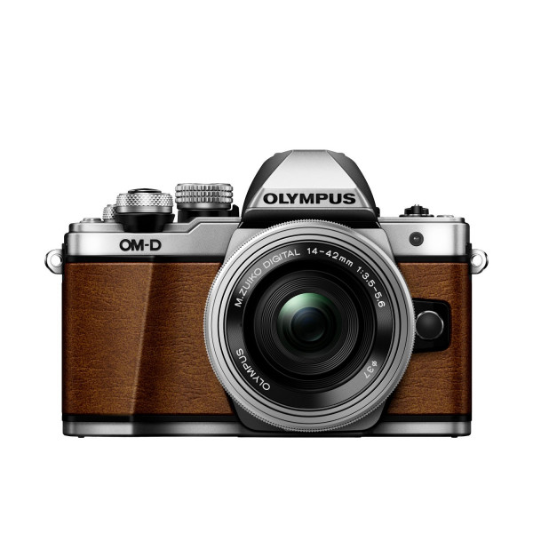 Olympus OM-D E-M10 Mark II Systemkamera (16 Megapixel, 5-Achsen VCM BildsTabilisator, elektronischer Sucher mit 2,36 Mio. OLED, Full-HD, WLAN, Metallgehäuse) Kit inkl. 14-42mm Objektiv fuchsbraun-37