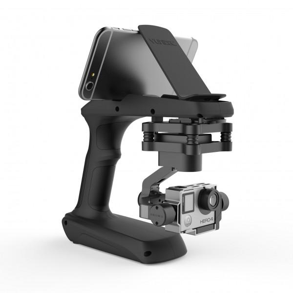 Yuneec SteadyGrip mit Stabilisierungsgimbal inkl. Griffadapter für verwacklungsfreie Videos aus der Hand, kompatibel mit GoPro Hero 3, 3+ und 4, inklusive Aluminium Koffer-32
