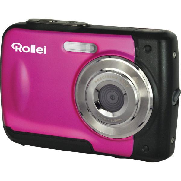 Rollei Sportsline 60 Digitalkamera (5 Megapixel, 8-fach digitaler Zoom, 6 cm (2,4 Zoll) Display, bildstabilisiert, bis 3m wasserdicht) rosa-35