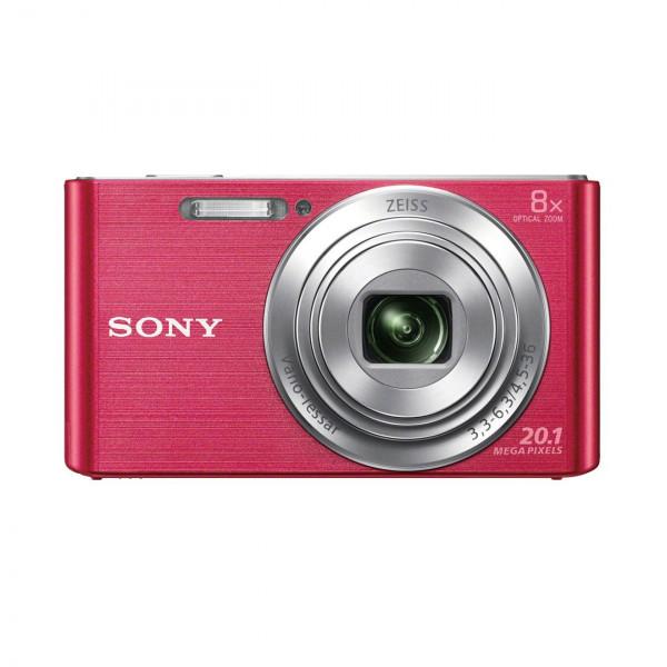 Sony DSC-W830 Digitalkamera (20,1 Megapixel, 8x optischer Zoom, 6,8 cm (2,7 Zoll) LC-Display, 25mm Carl Zeiss Vario Tessar Weitwinkelobjektiv, SteadyShot) pink-35