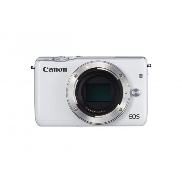 Canon EOS M10 Systemkamera (18 Megapixel, 7,5 cm (3 Zoll) Display, STM, WLAN, NFC, 1080p, Full HD) nur Gehäuse weiß-311