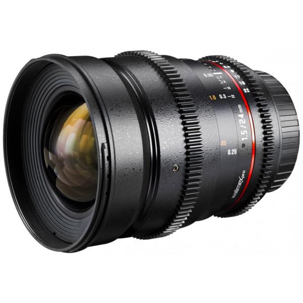 Walimex Pro 24 mm 1:1,5 VCSC Foto und Videoobjektiv (inkl. Filtergewinde 77mm, Gegenlichtblende, Zahnkranz, stufenlose Blende und Fokus) für Samsung NX Objektivbajonett schwarz-36