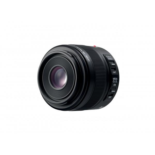 Panasonic H-ES045E LEICA DG ELMARIT Makro 45 mm F2.8 ASPH. Objektiv (Hochleistungs-Makro Objektiv, 90 mm KB, O.I.S.) schwarz-32
