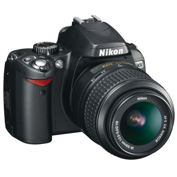 Nikon D60 SLR-Digitalkamera (10 Megapixel) Kit inkl. 18-55mm 1:3,5-5,6G VR Objektiv (bildstab.)-36