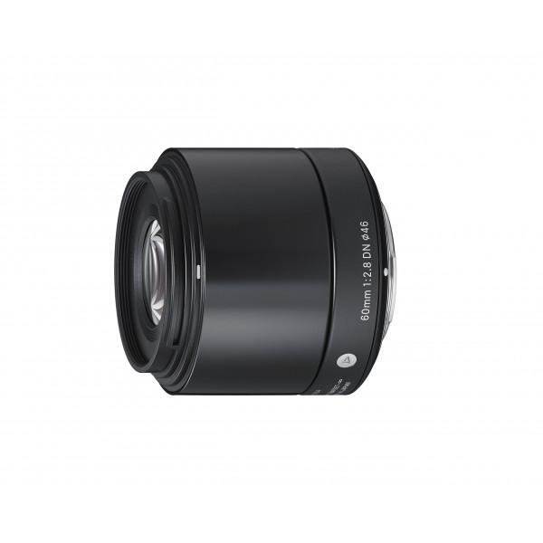 Sigma 60mm f2,8 DN Objektiv (Filtergewinde 46mm) für Micro Four Third Objektivbajonett schwarz-37