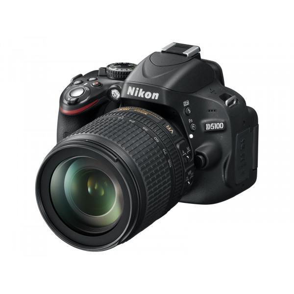 Nikon D5100 SLR-Digitalkamera (16 Megapixel, 7.5 cm (3 Zoll) schwenk und drehbarer Monitor, Live-View, Full-HD-Videofunktion) Kit inkl. AF-S DX 18-105 mm VR (bildstb.)-36
