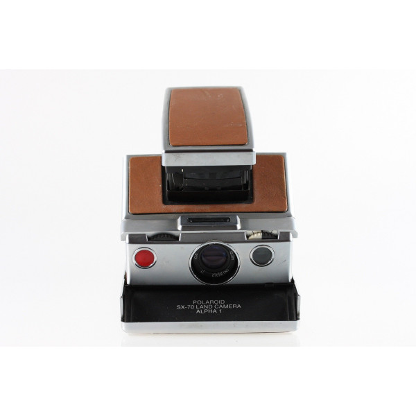 Polaroid SX-70 Land Camera Alpha 1 Instant Camera Sofortbildkamera-34