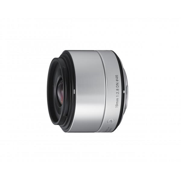 Sigma 19mm f2,8 DN Objektiv (Filtergewinde 46mm) für Micro Four Thirds Objektivbajonett silber-34