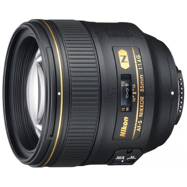Nikon AF-S 85mm 1:1.4G Objektiv (77 mm Filtergewinde) inkl. HB-55-33