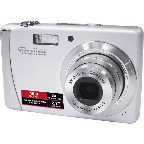 Rollei Compactline 102 Digitalkamera (10 Megapixel, 3-fach opt. Zoom, 6,9 cm (2,7 Zoll) Display) silber-34