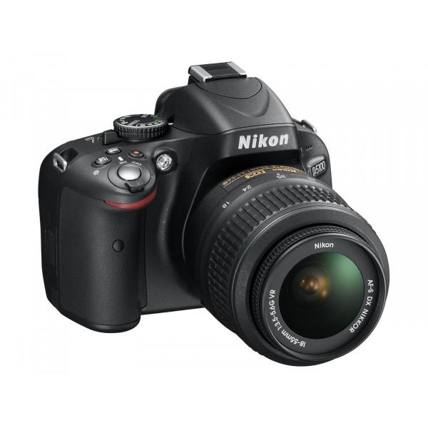 Nikon D5100 SLR-Digitalkamera (16 Megapixel, 7.5 cm (3 Zoll) schwenk und drehbarer Monitor, Live-View, Full-HD-Videofunktion) Kit inkl. AF-S DX 18-55 mm VR (bildstb.)-310