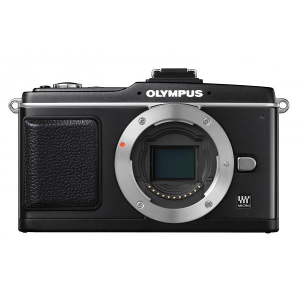 Olympus PEN E-P2 Systemkamera (12,3 Megapixel, 7,6 cm Display, Bildstabilisator) Gehäuse schwarz-34