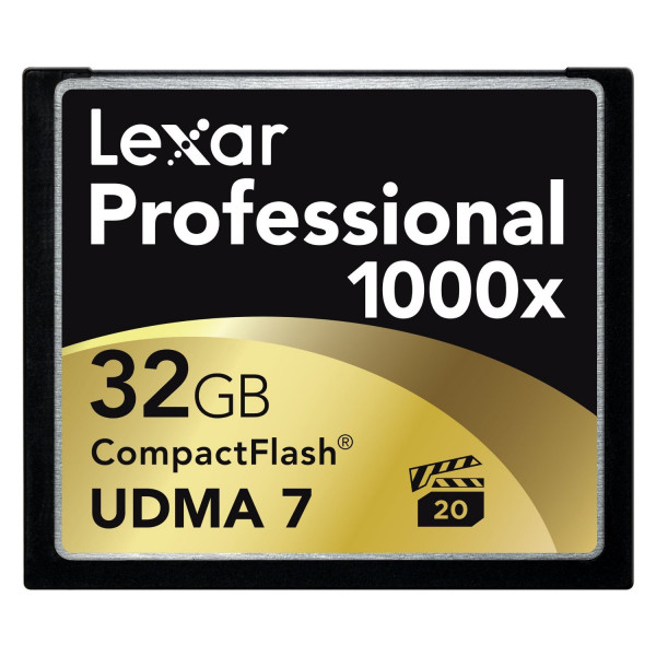 Lexar Professional Thin Box 32GB CompactFlash Speicherkarte 1000x-32