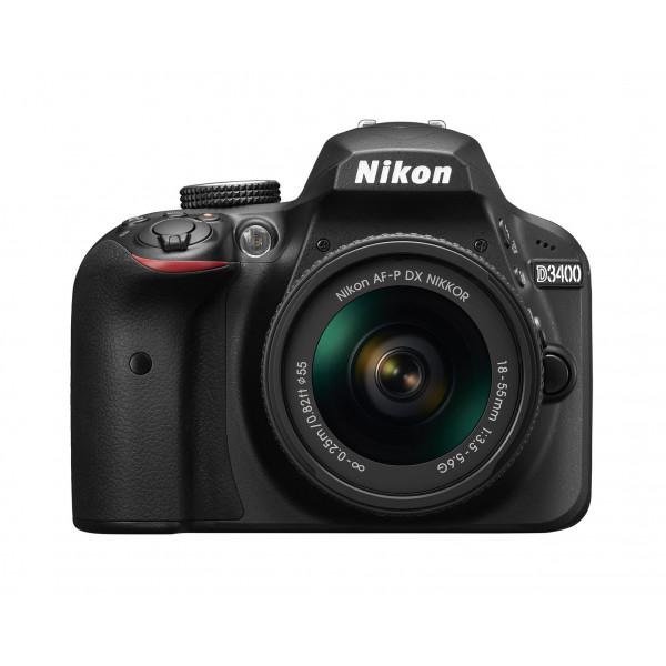 Nikon D3400 Kit schwarz + AF-P 18-55 VR-37