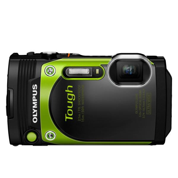 Olympus TG-870 Digitalkamera (16 Megapixel, BSI CMOS-Sensor, 7,6 cm (3 Zoll) TFT LCD-Display, 21 mm Weitwinkelobjektiv, 5-fach Zoom, WiFi, Full HD, wasserdicht bis 15 m) grün-310