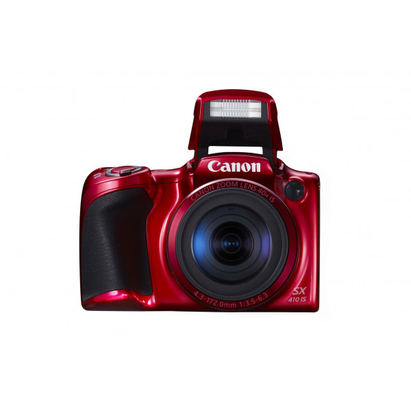 Canon PowerShot SX410 IS Digital Kamera (7,6 cm (3,0 Zoll) Display, 20 Megapixel, 40-fach opt. Zoom, HDMI Mini, USB 2.0) rot-37