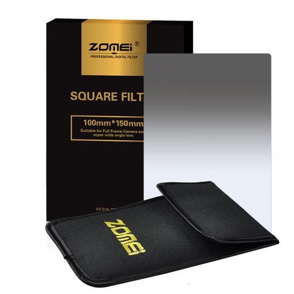 "Zomei ND2 Platz Allmähliche Grau Farbe Objektiv-Filter 100x150mm für Cokin Z Zomei Hitech 4X6 ""Holder 150 * 100 mm-38"