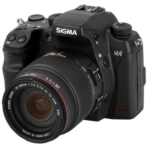 Sigma SD1 Merrill SLR-Digitalkamera (46 Megapixel, 7,6 cm (3 Zoll) Display, CF-Speicherkartenslot) Kit inkl. 18-200/3,5-6,3 II DC OS HSM Objektiv für Sigma Objektivbajonett schwarz-38