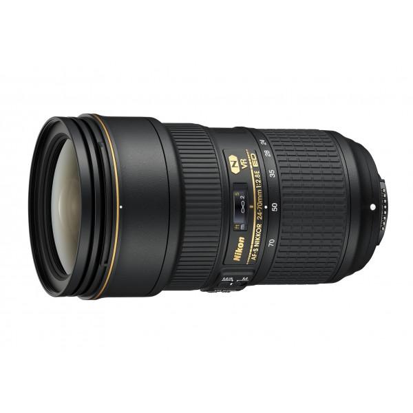 Nikon AF-S Nikkor ED VR 24-70 mm 1:2 8E Objektiv (82 mm Filtergewinde) schwarz-37